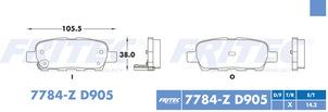 FRITEC SPC-7784-Z-D905