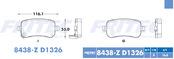 FRITEC SPC-8438-Z-D1326