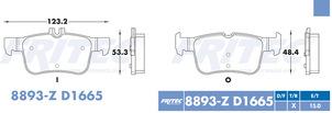 FRITEC SPC-8893-Z-D1665