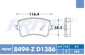 FRITEC SPC-8494-Z-D1386