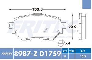 FRITEC SPC-8987-Z-D1759