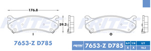 FRITEC SPC-7653-Z-D785