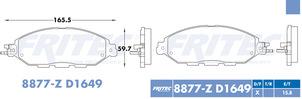 FRITEC SPC-8877-Z-D1649