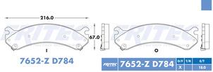 FRITEC SPC-7652-Z-D784