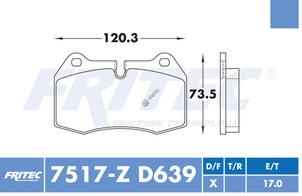 FRITEC SPC-7517-Z-D639