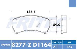 FRITEC SPC-8277-Z-D1164