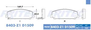FRITEC SPC-8403-Z1-D1509