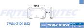 FRITEC SPC-7958-Z-D1053