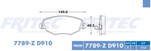 FRITEC SPC-7789-Z-D910