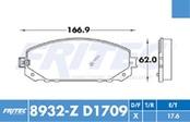 FRITEC SHD-8932-Z-D1709