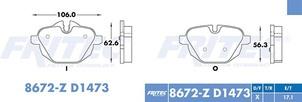 FRITEC SPC-8672-Z-D1473