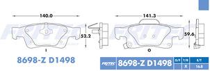 FRITEC SPC-8698-Z-D1498