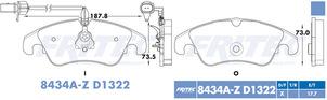 FRITEC SPC-8434A-Z-D1322