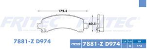 FRITEC SPC-7881-Z-D974