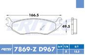 FRITEC SHD-7869-Z-D967