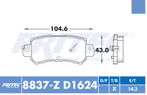 FRITEC SPC-8837-Z-D1624