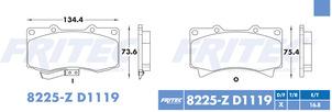 FRITEC SPC-8225-Z-D1119
