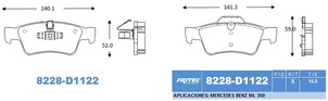 FRITEC SHD-8228-Z-D1122
