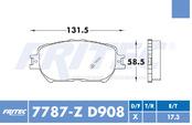 FRITEC SPC-7787-Z-D908