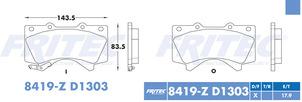 FRITEC SPC-8419-Z-D1303