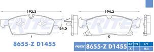 FRITEC SPC-8655-Z-D1455