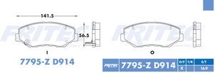 FRITEC SPC-7795-Z-D914