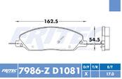 FRITEC SPC-7986-Z-D1081