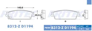 FRITEC SPC-8312-Z-D1194
