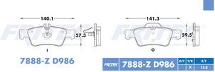 FRITEC SPC-7888-Z-D986