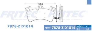 FRITEC SPC-7878-Z-D1014