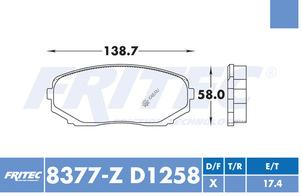 FRITEC SPC-8377-Z-D1258