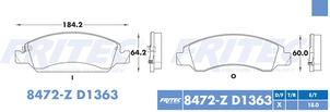 FRITEC SPC-8472-Z-D1363