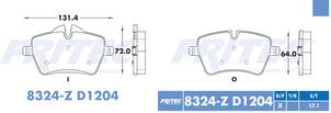 FRITEC SPC-8324-Z-D1204
