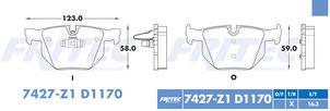 FRITEC SPC-7427-Z1-D1170
