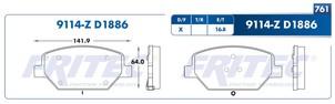 FRITEC SPC-9114-Z-D1886