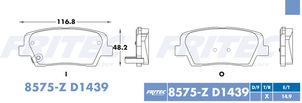 FRITEC SPC-8575-Z-D1439