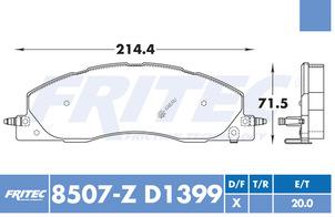 FRITEC SHD-8507-Z-D1399