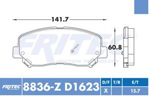 FRITEC SPC-8836-Z-D1623