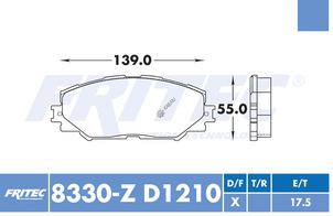 FRITEC SPC-8330-Z-D1210