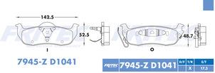 FRITEC SPC-7945-Z-D1041