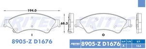 FRITEC SHD-8905-Z-D1676