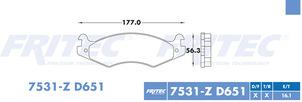 FRITEC SHD-7531-Z-D651