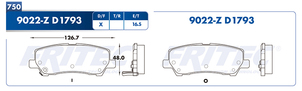 FRITEC SPC-9022-Z-D1793