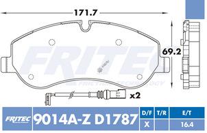 FRITEC SHD-9014A-Z-D1787