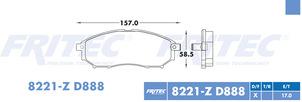 FRITEC SPC-8221-Z-D888